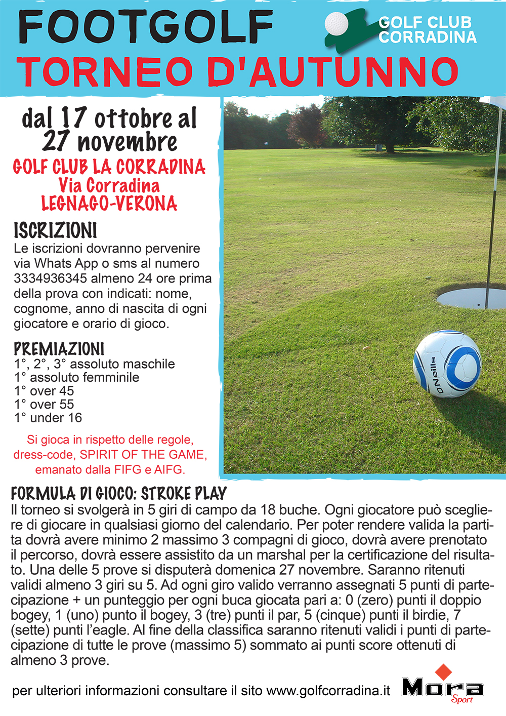 Torneo d'autunno Footgolf
